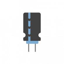 خازن الکترولیتی یا قطبی(استوک و کارکرده)